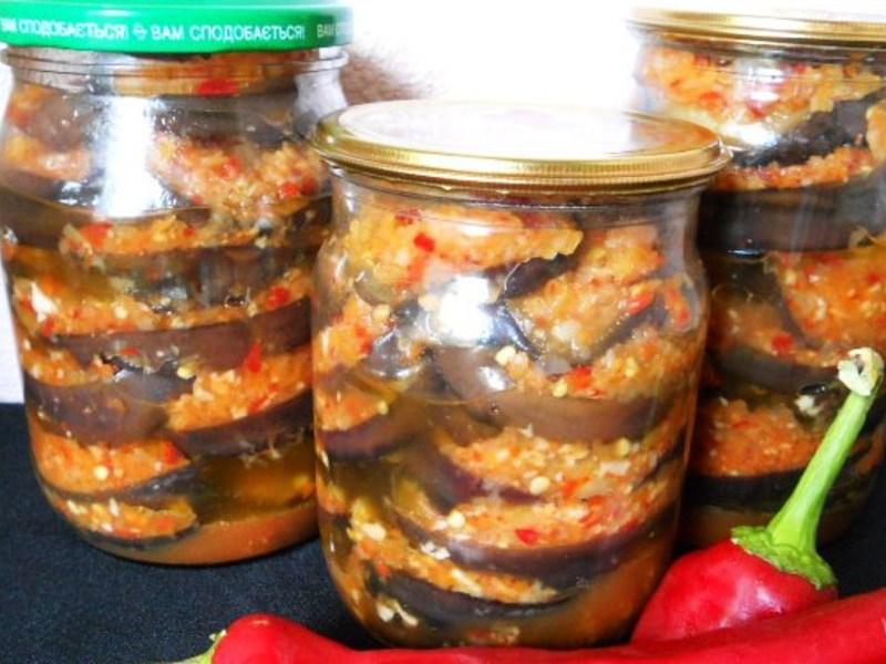 Баклажаны на зиму рецепты приготовления без стерилизации