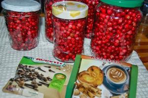 рецепты мочёной брусники на зиму