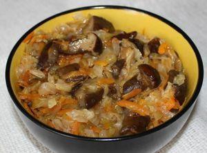 рецепт солянки с грибами и капустой как в магазине