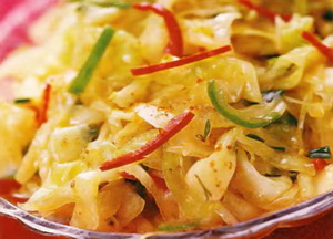 Капуста по-корейски - пошаговый рецепт