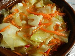Быстрая капуста пряная по-корейски - рецепт капусты кусочками