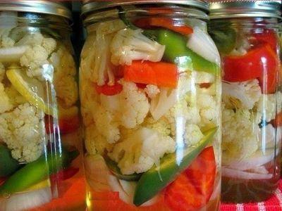 Как вкусно засолить цветную капусту на зиму