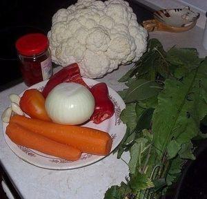 Классический рецепт цветной капусты на зиму