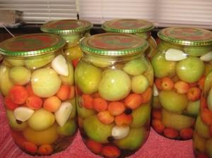 Зеленые помидоры на зиму - рецепты заготовок