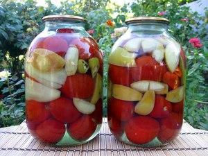 Консервация помидор - рецепты закруток на зиму
