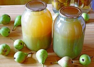 Грушевый сок - вкусные зимние заготовки