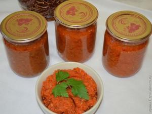 Заготовка на зиму из моркови