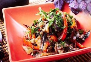 Блюдо из баклажанов помидор и перцев — pic 7