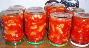 Капуста в томатном соке - интересный рецепт