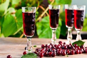 Приготовить вишневый ликер в домашних условиях пошаговый рецепт