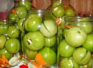 Рецепт соления вкусных помидор