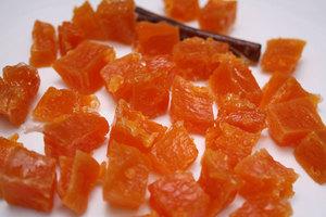 Апельсиновые цукаты в домашних условиях