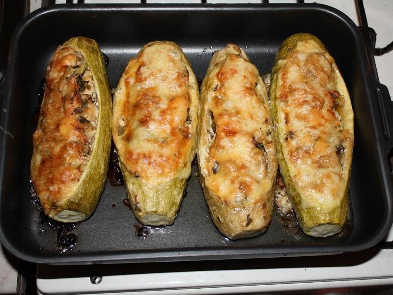 Рецепт приготовления кабачков в духовке с фото