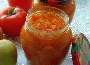 икра из моркови на зиму.рецепт