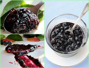 рецепты варенья из черноплодки с айвой