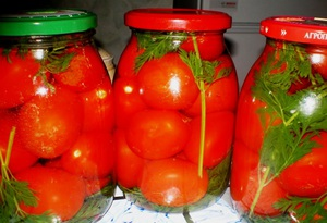 помидоры с морковной ботвой на зиму рецепт с фото