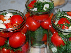 Рецепт помидоров в банки