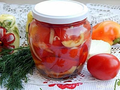 Консервированные помидоры в желе