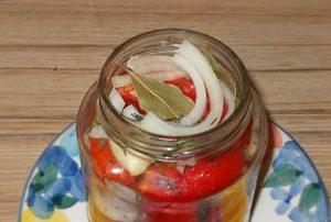 помидоры на зиму в желатине рецепты с фото