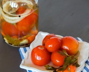 Рецепт приготовления помидоров на зиму