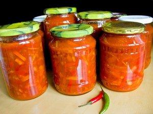 салат лечо из помидоров