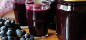 Как выжать виноградный сок
