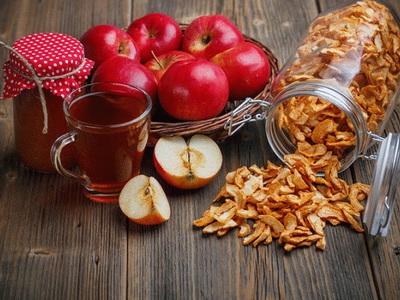Как сушить яблоки в духовом электрическом шкафу