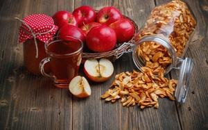 Сушеные яблоки на зиму