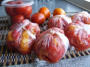 Способы заморозки помидоров на зиму