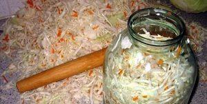 Рецепт соленой капусты