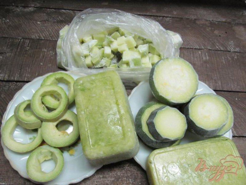 Замороженные кабачки рецепт фото