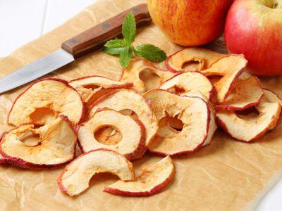 Как быстро порезать яблоки для сушки