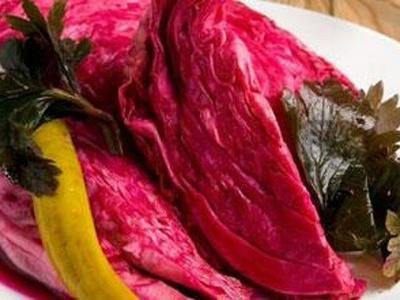 Капуста по гурийски: вкусный овощной салат