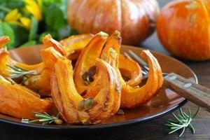 Сушеная тыква рецепт в духовке - Лучшие рецепты блюд