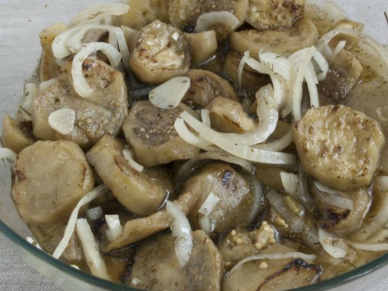 Рецепт баклажанов на зиму как грибы