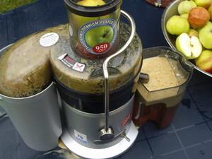 Описание способа нарезки яблок и выжимания из них сока