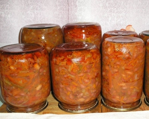 Рецепт салата из бобов