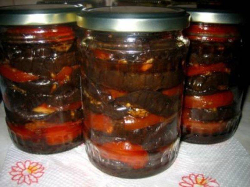 Вкуснейшие салаты из баклажан на зиму