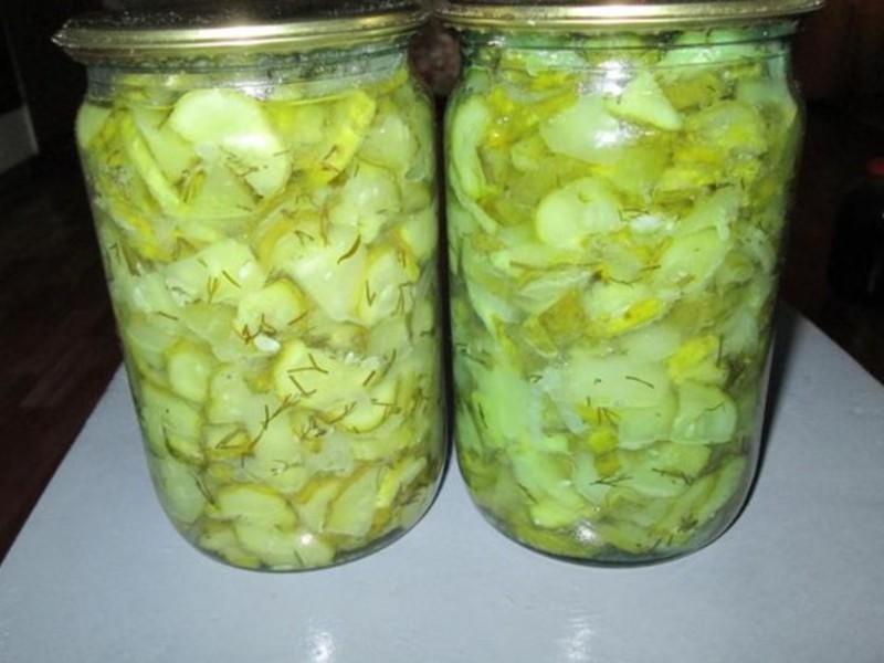 Огуречный салат на зиму с