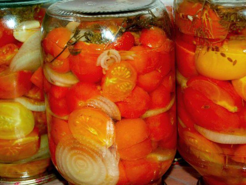 Как на зиму заготовить томаты на зиму в домашних условиях