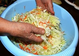 В чем солить капусту в домашних условиях рецепт 106