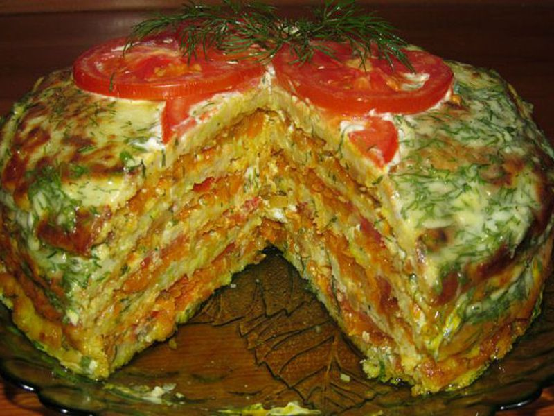 Как приготовить торт из кабачков пошаговый рецепт с фото