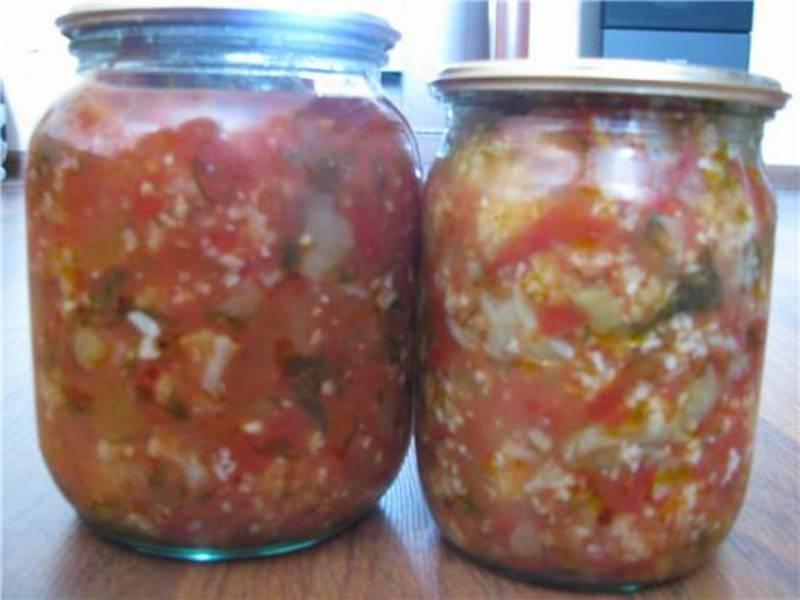 Салат из цветной капусты рецепт на зиму