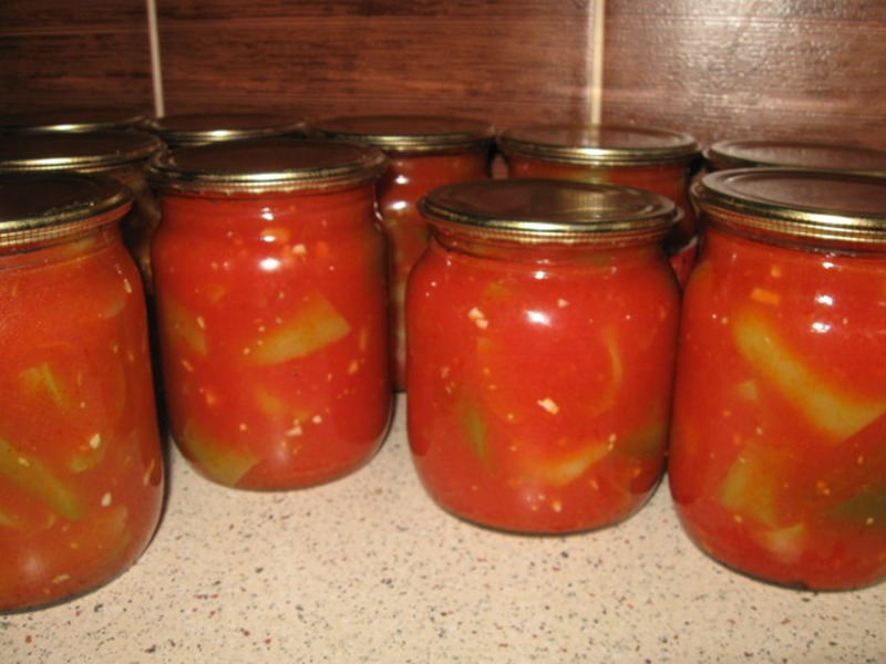 Лечо болгарское на зиму рецепты с помидорами и перцем