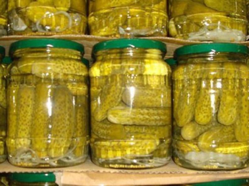 Консервация огурцов на зиму рецепт